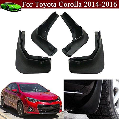 4pcs Car Mud Flap Splash Guard Fender Mudguard Mudflap For Toyota Corolla 2014-2015-2016 (Mud Flaps Corolla compare prices)
