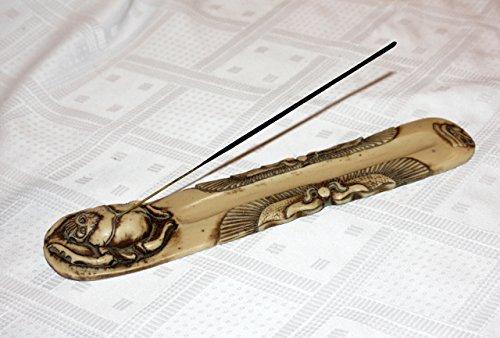 Incensario Escarabajo 2 colores ELFENBEIN-ANTIK o turquesa-negro ambientadores regalo