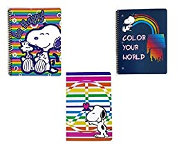 Peanuts Snoopy Assorted Notebook 2-pack (2 Pieces) (Design May Vary)
