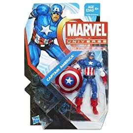 Captain America Marvel Universe #004 Action Figure