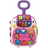 Vtech Roll & Learn Activity Suitcase - Pink