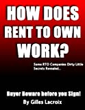 img - for How Does Rent To Own Work? (The American Dream) book / textbook / text book