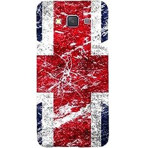 Casotec UK Flag Design Hard Back Case Cover for Samsung Galaxy A5