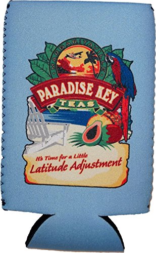 Margaritaville Can Bottle Insulator Cooler Blue Paradise Key Teas (Margarita Cooler compare prices)