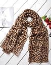 Premium Soft Chiffon Scarf – Leopard…