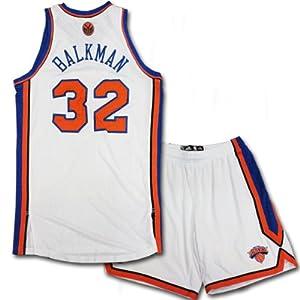 Renaldo Balkman Uniform - NY Knicks 2011-2012 Season Game Worn #32 White Uniform... by Steiner+Sports