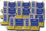 10 Sets of Epson Stylus Compatible T040 & T041 Ink Cartridges (10 x Black;10 x Colour) for CX3200