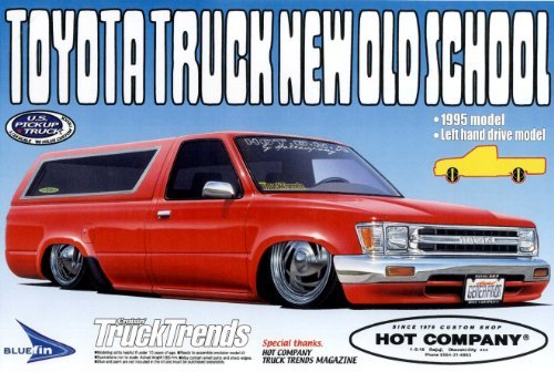 "#3 Toyota Truck ""New Old School"" 95 W/camper Top LH Drive"