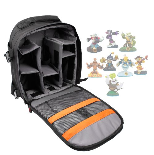 DURAGADGET Deluxe Storage Bag / Carrying Holder Backpack For Skylanders / SWAP Force / Skylander Giants Figurines