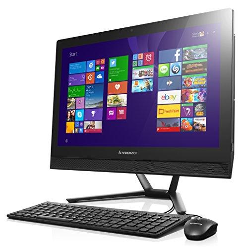 Lenovo C40-05 21.5-Inch All-in-One Touchscreen Desktop (AMD A6 1.8 GHz, 8GB DDR3 RAM, 1TB Hard Drive, DVDRW, Windows 8.1) - F0B5000JU