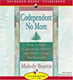 img - for Codependent No More [Audio CD] [2006] (Author) Melody Beattie book / textbook / text book