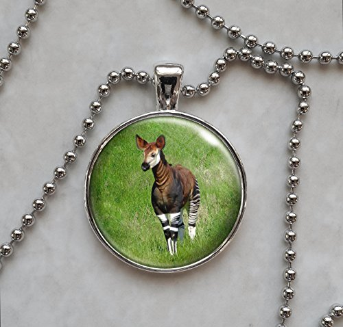 Okapi Animal Pendant Necklace