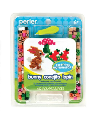 Perler Fused Beads Kit, Bunny Motionator