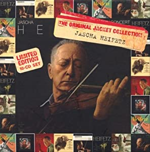 Jascha Heifetz Original Jackets Collection