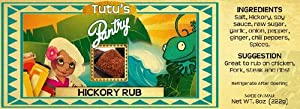 Hawaii Maui Value Pack Tutu's Pantry Hickory Rub 12 Jars