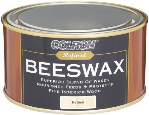 Ronseal CRPBWN4 400g - Pasta de cera de abeja para madera, color madera natural