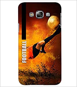 PrintDhaba Football D-5949 Back Case Cover for SAMSUNG GALAXY A7 (Multi-Coloured)