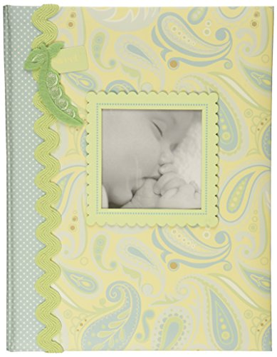 C.R. Gibson Bound Keepsake Memory Book of Baby's First 5 Years, Jack