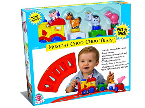 Small World Toys Preschool - Musical Choo Choo Train B/O