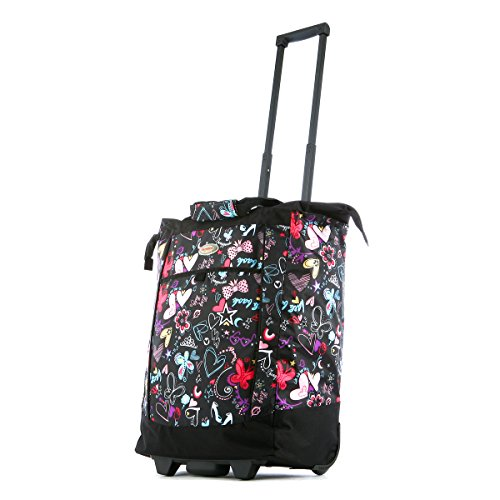 olympia-fashion-rolling-shopper-tote-bf-butterfly-one-size