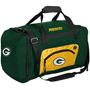 NFL Green Bay Packers Roadblock Duffle, Hunter Green by Concept 1