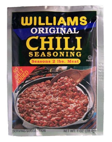 Williams Chili Seasoning Mix, 1-ounce