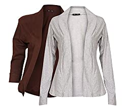Ten on Ten Women's Full Sleeved Shrug