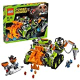 510xDQBiFXL. SL160  Lego Power Miners Series Set #8961   CRYSTAL SWEEPER with 2 Miners and 2 Rock Monster Mini Figures (Total Pieces: 474)