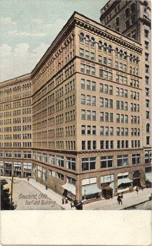 1910 Vintage Postcard Garfield Building Cleveland