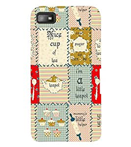 TOUCHNER (TN) Cup Of Tea Back Case Cover for Blackberry Z10