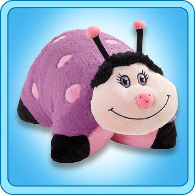 My Pillow Pet Lady Bug - Small (Pink And Purple)