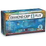 Diamond Grip Plus Latex Gloves, Microflex - Size Large - Model Dgp-350-l - Pack Of 100