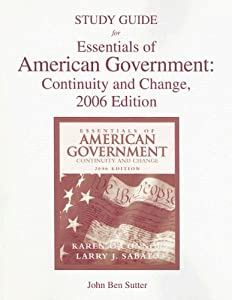 essentials of american government Essentials of american politics is an undergraduate text with a novel analytical and comparative focus it takes as a central theme the increasing tension in american politics between a general philosophy of limited government and particular public demands for more and better government programs and services.