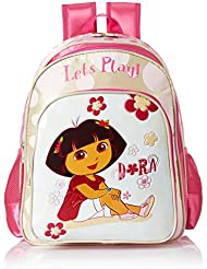 Simba 16 Inches Pink Children's Backpack (BTS-2013)