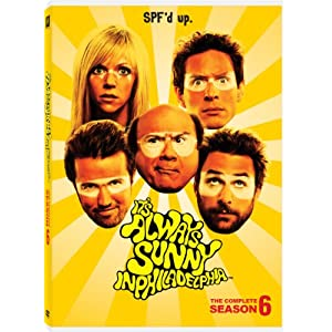 It's Always Sunny In Philadelphia: Season 6 on DVD