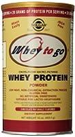 Solgar - WEY TO GO Protéines Chocolat - 454 gr
