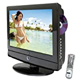 15.6inch-Pyle - 12 Volt RV/Car/Truck/Boat Plug-in 15.6'' Hi-Definition LCD TV w/Built-in DVD Player