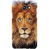 For Samsung Galaxy On7 (2016) Dangerous Lion ( Dangerous Lion, Lion, Cute Lion, Brown Lion ) Printed Designer Back Case Cover By FashionCops