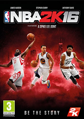 NBA 2K16 Box with Download Code (PC)