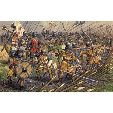 Zvezda 1:72 English Infantry Of The 100 Years War