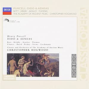Purcell - Dido & Aeneas / Bott, Kirkby, Ainsley, Thomas, AAM, Hogwood