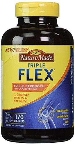 Nature Made TripleFlex Triple Strength, 170 Caplets (Natural Made Flex compare prices)