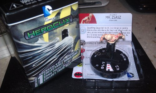 DC Heroclix Batman Streets of Gotham Guy Mr Zsasz counter top - 1