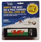 Welsh Dragon Ski & Pole Carrier