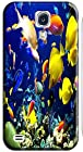 Top Quality Phone Accessories Under Sea World Beautiful Colorful Fishs Clean Water Special Design Cell Phone Cases Covers For Samsung Galaxy S4 i9500 No.11