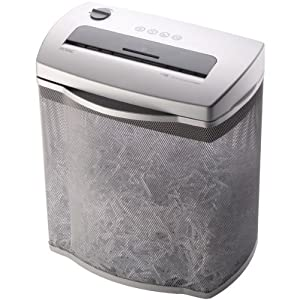 Royal HT88 Shredder 8-Sheet Full Size Cross Cut with Wire Mesh Basket
