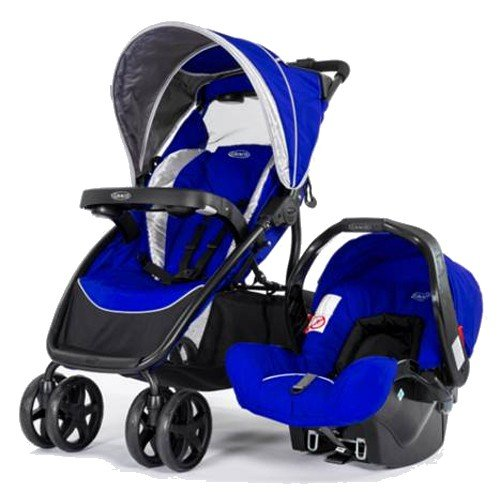 Graco Dynamo Lite Travel System - Indigo (Blue)