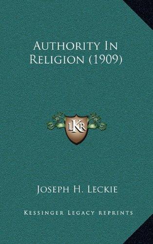 Authority in Religion (1909)