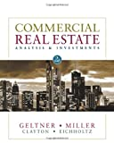 Commercial Real Estate Analysis and Investments (with CD-ROM)