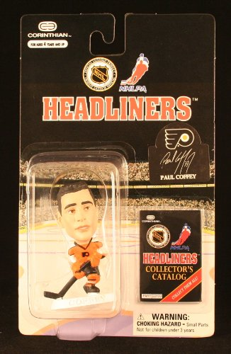 PAUL COFFEY / PHILADELPHIA FLYERS * 3 INCH * 1997 NHL Headliners Hockey Collector Figure